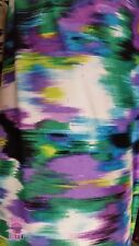 ITY Knit Larossa Purple/Green Polyester Lycra Jersey Fabric