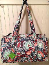 Vera Bradley NOMADIC FLORAL SMALL DUFFEL Bag Travel Tote NWT
