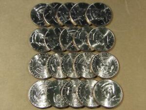 2011-D Kennedy Half Dollar Uncirculated Roll Of 20 Coins