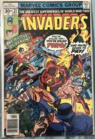 Invaders #21 1977 Bronze Age Marvel Comics Captain America