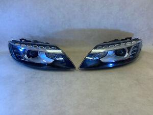Audi Q7 4L Genuine Facelift Xenon Headlights SET Left & Right LHD LED 09->