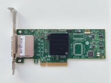 HP 9200-8e PCI-e LSI SAS Controller (IT-mode)   Full height bracket   617824-001