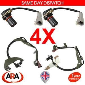 4x ABS SPEED SENSOR FOR OPEL VAUXHALL FRONTERA ISUZU TROOPER 98-04 FRONT & REAR