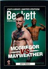Floyd Mayweather NSCC 2017 National Convention Beckett Covers Conor McGregor