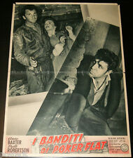 soggettone film THE OUTCASTS OF POKER FLAT Anne Baxter Dale Robertson 1952