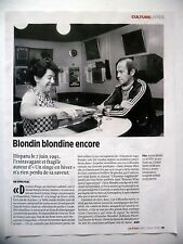 COUPURE DE PRESSE-CLIPPING : Antoine BLONDIN [2pages] 06/2016