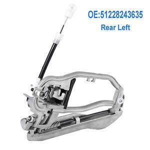 Door Handle Rear Left  Carrier For BMW X5 E53 Inner Passenger Side 51228243635