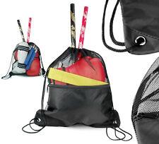 Drawstring Mesh Bag Deluxe Sling Bag Equipment Bag Martial Arts backpack Gym Bag