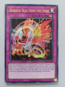 YUGIOH TCG Ghost of the Past - Hieratic Seal from the Ashes GFTP-EN058