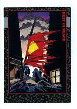 Skybox 1992 Doomsday The Death of Superman Base Card #90 Rest in Peace