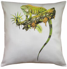Iguana (b) Themed Cotton Cushion Cover - Perfect Gift