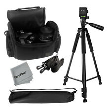 "Pro 60"" Tripod with Deluxe Camera Case Bag for Nikon D5100, D5200, D5300, Camera"