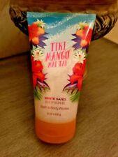 "Bath & Body Works White Sand Body Scrub ""Tiki Mango Mai Tai"" New!"