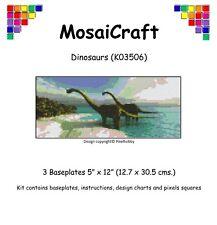 MosaiCraft Pixel Craft Mosaic Art Kit 'Dinosaurs' Pixelhobby