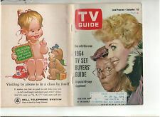 TV GUIDE 1963 IRENE RYAN ANN MARGRET KIM HAMILTON 1964 TV SET BUYER'S GUIDE OOP