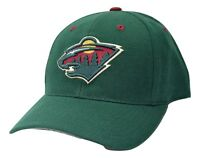 Minnesota Wild PUMA Team Apparel NHL Team Logo Adjustable Hockey Cap Hat