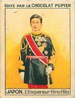 Hirohito Hiro-Hito Emperor Shōwa Empereur  JAPON JAPAN CHROMO 30s