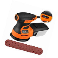 TACKLIFE Ponceuse Excentrique, Rotative, 350W 0-13000OPM, 6 Vitesses Variables,