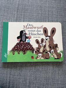 Der Maulwurf rettet das Häschen von Zdenek Miler (2003, Pappbilderbuch)