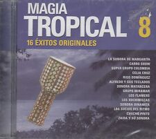 La Sonora Margarita Carro Show Celia Cruz Magia Tropical 8  CD New Sealed