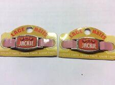 """2 Encaje Mates """"Jackie"""" (zapato o pulsera bisutería forma) Fiesta Favores de gastos de envío gratis"""