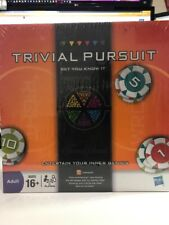 Hasbro TRIVIAL PURSUIT Bet You Know It Board Game 2009 Game Night Adult 16+