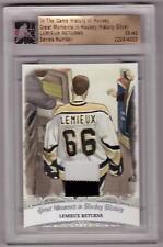 MARIO LEMIEUX ITG History of Hockey Great Moments Lemieux Returns Jersey SP /40