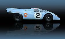 1969 Porsche 917K Group 6  WSC Le Mans Vintage Classic Race Car Photo (CA-0931)