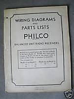 Huge 1933 Philco Tube Radio Wiring Diagrams Manual on CD .pdf
