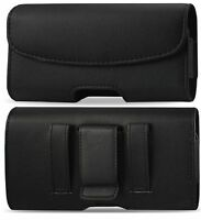 FOR LG STYLO 4 Leather belt clip loop Pouch Holster cover case