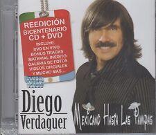 Diego Verdaguer CD NEW Mexicano Hasta Las Pampas REEDICION Bicentenario CD + DVD