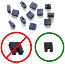 Lot100 Micro/Mini Jumper/Jump Block 2mm Computer/HD/CD/SCSI/PCB/Circuit Board