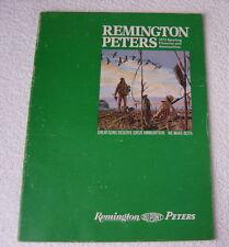 REMINGTON FIREARMS 1972 GUN CATALOG