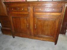 Dresse ancienne en chêne, dreche, meuble ancien chêne, buffet ancien Louis XVI