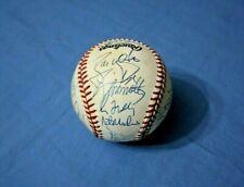 1996 Atlanta Braves N.L. Champions team autographed baseball 25 bold signatures