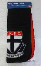 AFL Gold Coast Suns Polar Fleece Throw Blanket 127x155cm Licenced Product