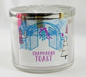 New Bath & Body Works In Champagne Toast 3 Wick Candle