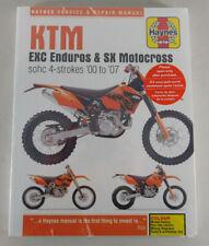 Reparaturhandbuch KTM EXC Enduros, MXC, SX Motocross sohc 4 - strokes, 00 - 07