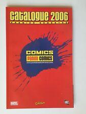 CATALOGUE PANINI COMICS MANGA 2006 MARVEL FRANCE /