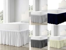 Bed Skirt For Dorm Room Ruffled Dorm Sized Bed Skirt Twin- 00006000 Xl All Color/Drop Fit