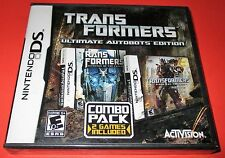 Transformers-Ultimate Autobots Edition Nintendo DS-DSi-Lite-XL-3DS New!