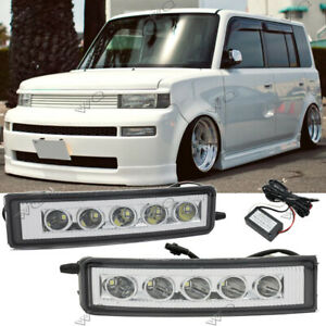 For 2003-2007 Scion XB LED DRL DayTime Running Lights Fog Lights w/Wiring