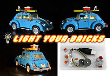 NEU! LED Light Licht Kit für Lego Volkswagen Käfer 10252 Beetle