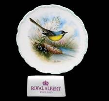 Vintage Royal Albert Reg Johnson yellow wagtail collector's plate