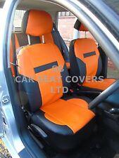 I - Semi passend für Opel Ampera Auto,Sitzbezüge,PVC Leder,orange/schwarz 59.99