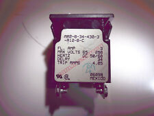 Carling Switch Ma2-B-34-430-3-A12-B-C M-Series Circuit Breaker -Excellent Cond.