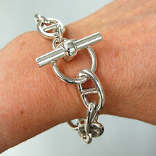 BR108 Bracelet Design Maillon Chaîne d Ancre Argent Massif 925 - 61g 2d27c88d338