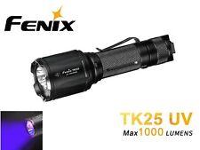 New Fenix TK25 UV Cree XP-G2 1000 Lumens LED Flashlight Torch ( White, UV )
