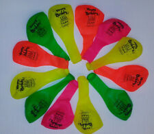 """Party Loons Helium Quality Printed - """"Happy Birthday"""" - Balloons 12 Count"""