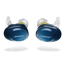 Bose SoundSport Free Wireless Bluetooth Ear Bud Headphones Navy/Citron